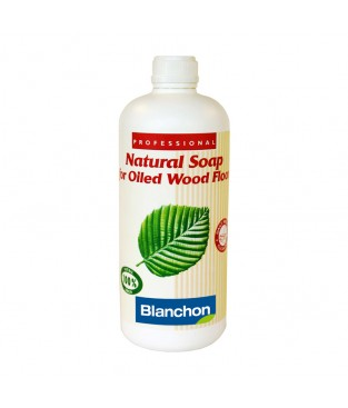 Natural Soap for Oiled Wood Floors